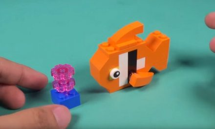 Kids Club | Build your own fish out of lego!