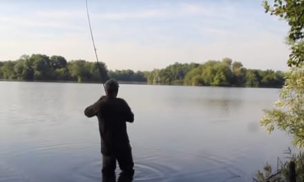 Dave Lane catches the Burghfield Common!