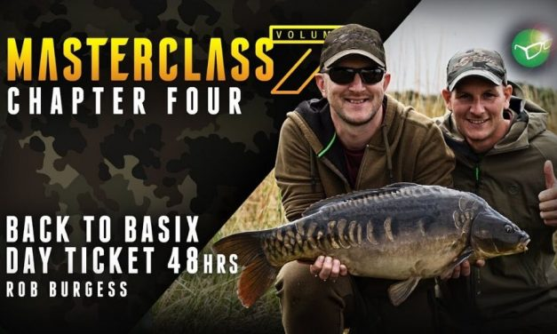 Korda Masterclass Vol 7: Day Ticket 48hrs Carp Fishing | Back to Basics