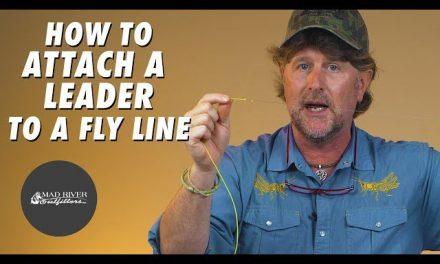 How To Attach A Leader To A Fly Line