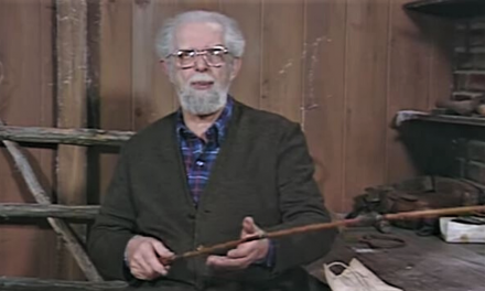 Bygone: Jack Hargreaves fishes Turk's Pond