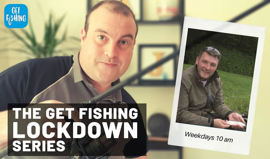 The Get Fishing Lockdown Series | Episode 2 – How To Play A Small Fish