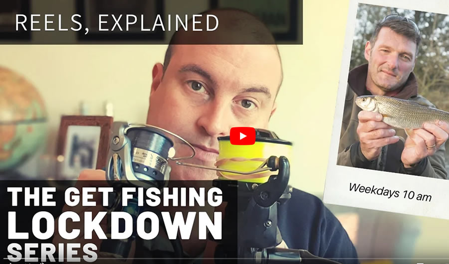 The Get Fishing Lockdown Series | Episode 5 – Fishing Reels Explained…