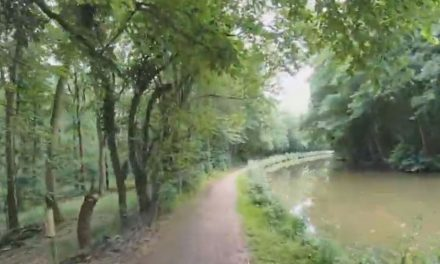 Virtual Walk – English Countryside By The Canal