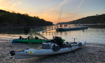 Finding new venues: sea fishing in a kayak