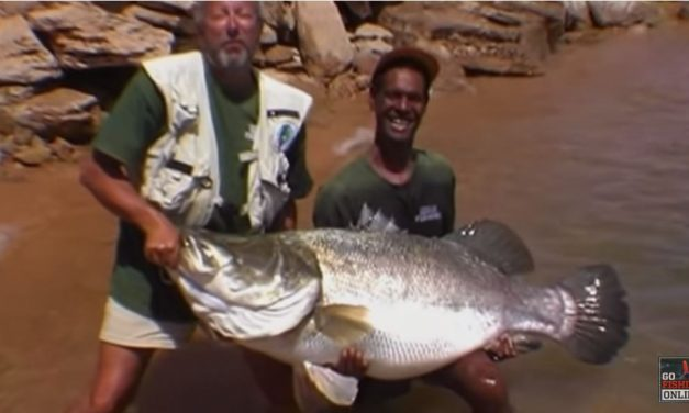 John Wilson catches a 120lb Nile Perch on a Lure