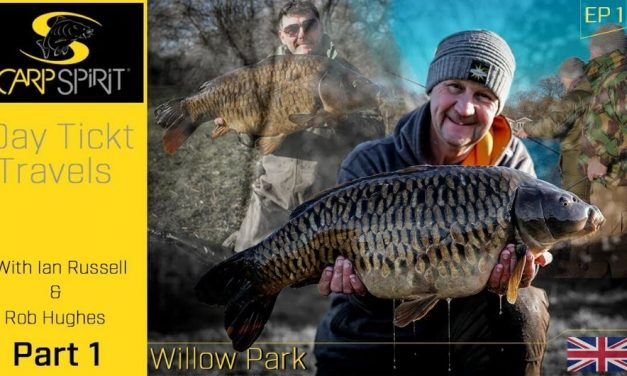 Carp Fishing: Day Ticket Travels at Willow Park with Rob Hughes & Ian Russell – PART 1