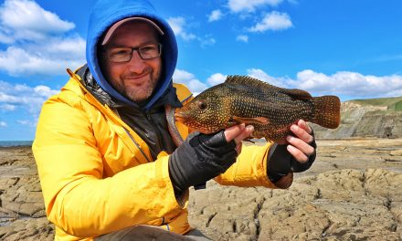 Early Season Wrasse Fishing with Lures