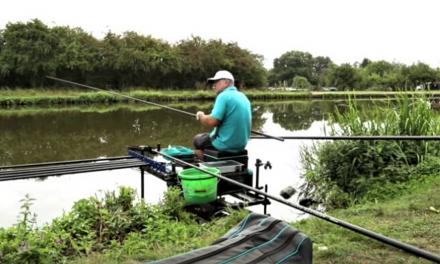 Squatt fishing with Alan Scotthorne