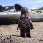 Chewbacca Goes kayak Fishing !