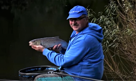 Chub fishing on the River Swale