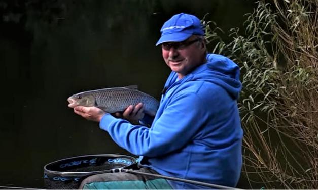 Chub fishing on the River Swale