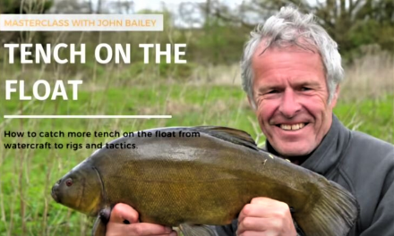 John Bailey: Tench fishing on the float