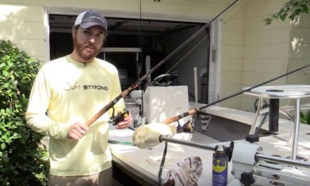 How to Properly Clean a reel after Fishing in Saltwater