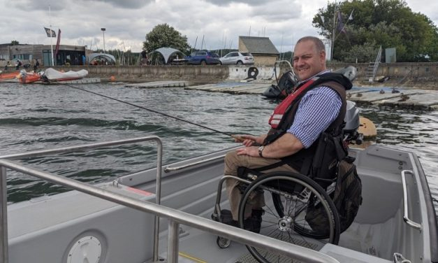 Farmoor Reservoir launches new wheelchair-accessible boat