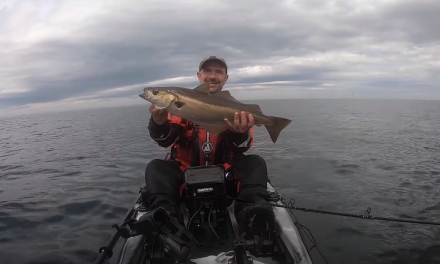 Kayak Fishing for Cod & Pollack