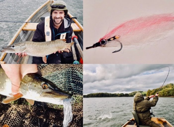 Pike Fly Fishing on Big Stillwaters