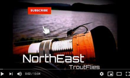 Fly Fishing At Thrunton Fishery, Northumberland