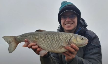 Specimen Chub on the River Nene!