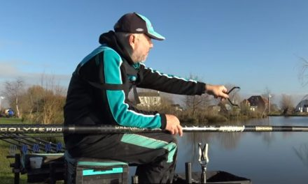Using a catapult whilst pole fishing