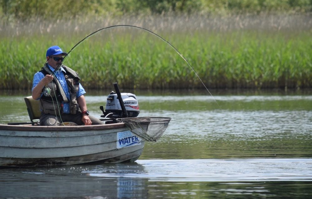Summer fly fishing with john Horsey