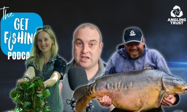 The Get Fishing Podcast – EP. 2 – Dean Asplin & Emily Smith
