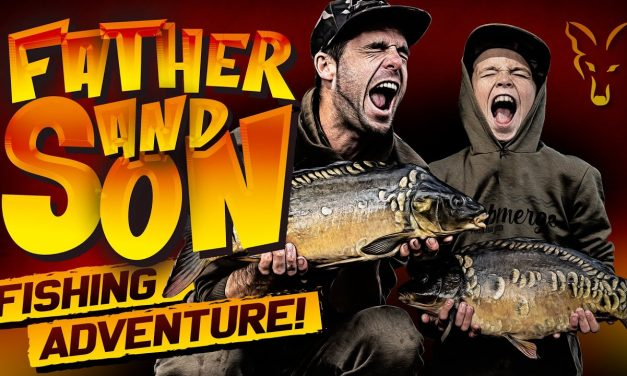 FIRST TIME CARP FISHING!   Father and Son Fishing Trip
