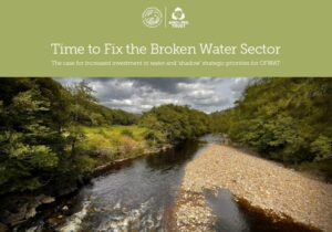 Time to fix the broken water sector